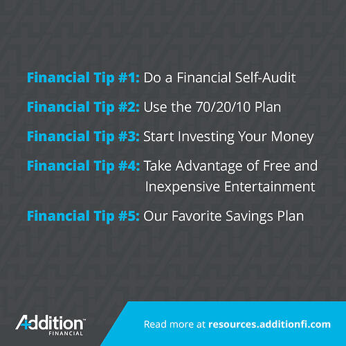 Financial Tips for the New Year