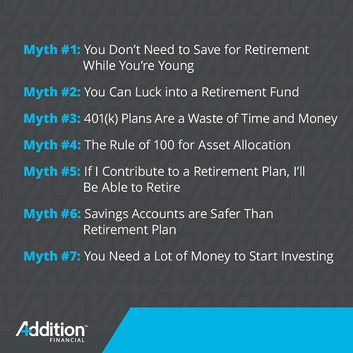 Retirement & Investment Myths